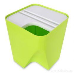 TOTEMUS designový koš 13lt stohovateľný, zelený