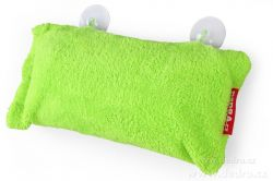 Podhlavník - vankúš do vane zelený