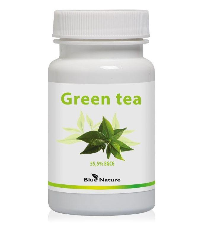 Zelený čaj v tobolkách