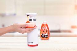 Automatický bezdotykový dávkovač mýdla
