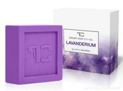 Rostlinné krémové mýdlo LAVANDERIUM s levandulovým extraktem 90 g