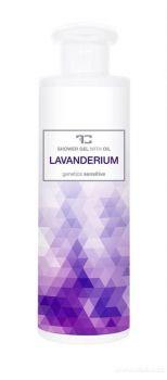 Sprchový gel s rostlinným olejem LAVANDERIUM 250 ml