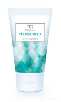 DEDRA - PEDIBACILEX deo cream nemastný osvěžující krém na nohy 150 ml
