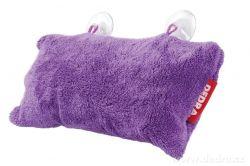Podhlavník - polštář do vany fialový 37 x 20 x 15 cm