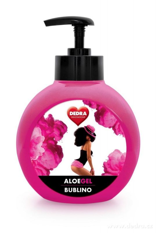BUBLINO ALOEGEL 500ml saison parfum s pumpičkou