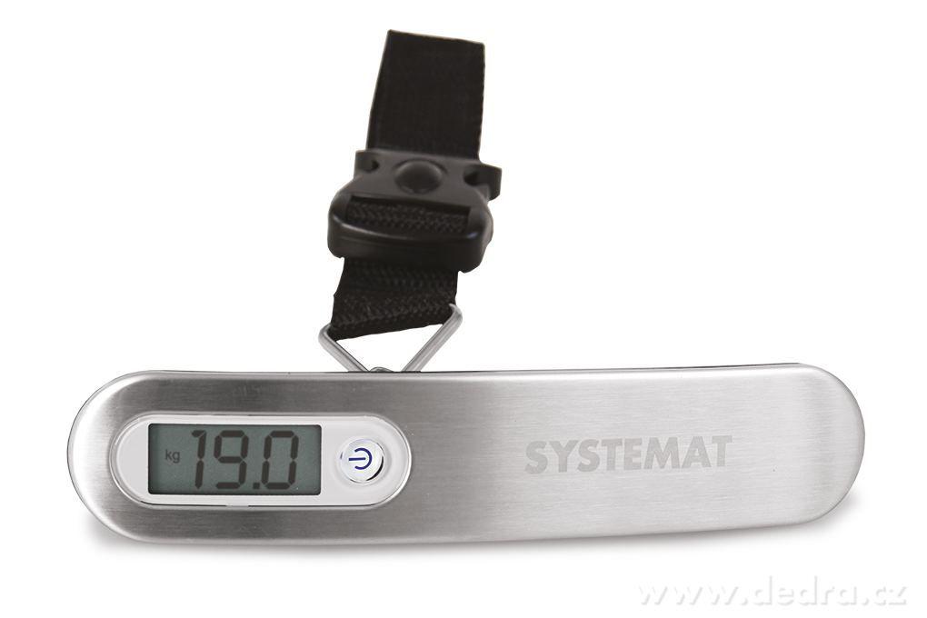 Digitální (elektronická) váha SYSTEMAT na zavazadla a jiné předměty