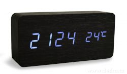 SYSTEMAT - WOODOO CLOCK (černé)