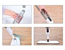 MOPOSPRAY praktický mop s rozprašovací nádržkou