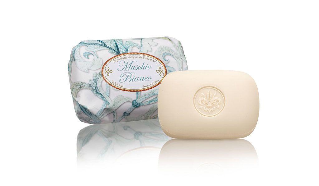 Přírodní mýdla Saponificio Artigianale Fiorentino, ručně balené