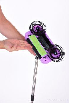 SAMOLUX® ručný zametač vhodný na tvrdé podlahy
