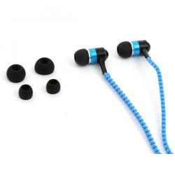 Stereo sluchátka do uší FreeStyle ZIP - modré