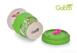 XL KELIMERO® GoEco® 500 ml hrnek a šroubovací víko s bambusovou vlákninou Nature colibri (kolibřík) Dedra