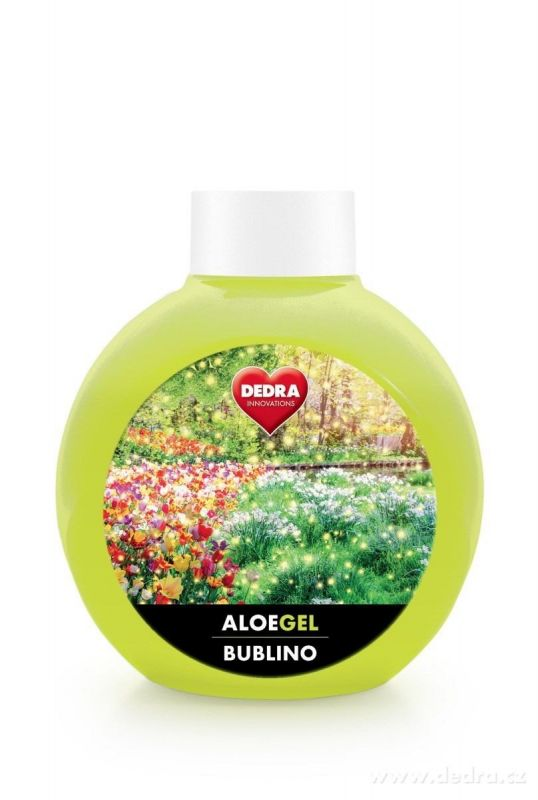 BUBLINO ALOEGEL 500ml magic garden bez pumpičky
