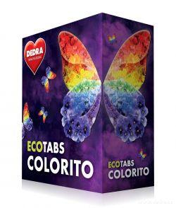 ECOTABS COLORITO, koncentrované tablety na barevné prádlo 60ks