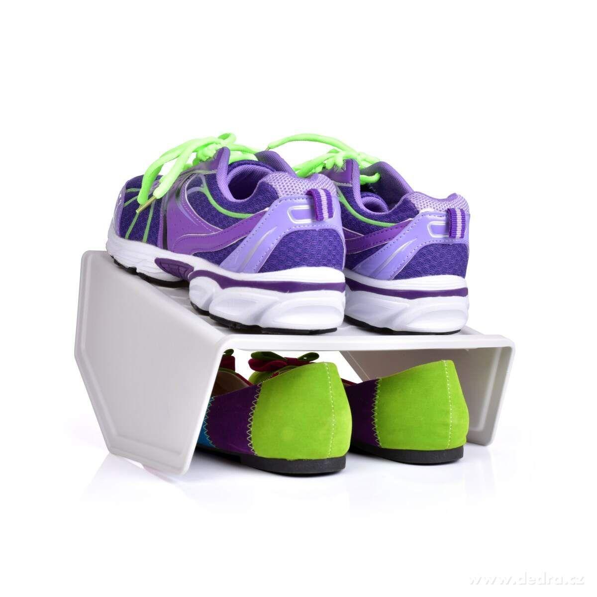 BOTOŠTOS DVOJPÁROVÝ stojan na obuv z kvalitného odolného plastu