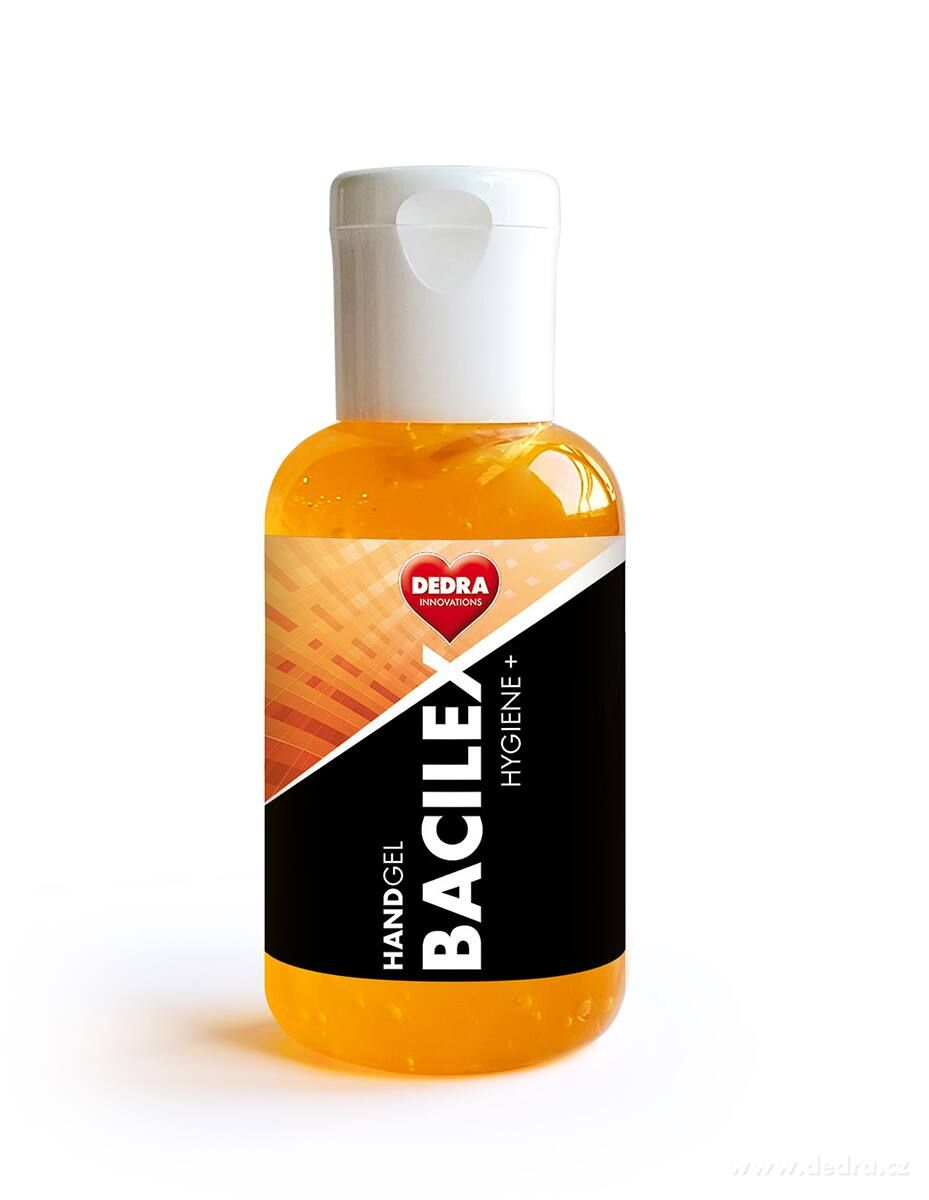HANDGEL BACILEX HYGIENE+ 50ml gel na ruky s obsahom alkoholu