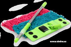 SASANKA mop na podlahu tyrkysová