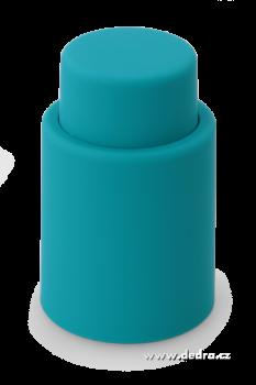 Flaškátor - vakuový uzávěr lahve tyrkysový