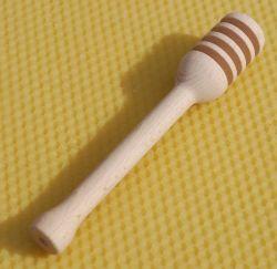 Naběračka medu - dřevěná