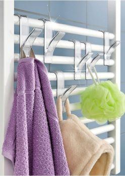 Závesný háčik na kúpeľňový radiátor