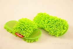 SAMOCHODKY upratovacie papučky, zelené