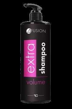 4 FUSION šampon na vlasy 400ml extra volume