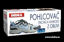 Pohlcovač pachov a vlhkosti z obuvi