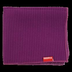 Ultrasavá utěrka z vaflového mikrovlákna fialová