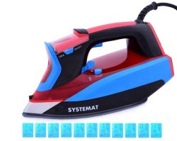 SYSTEMAT DIGITRON naparovacia žehlička červeno-modrá