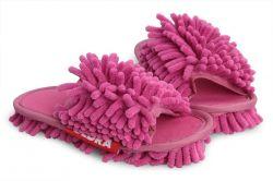 SAMOCHODKY upratovacie papučky, ružové