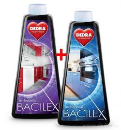 BACILEX s vysokým obsahom alkoholu (70%) náhradné náplne, bez rozprašovača, 2x500ml