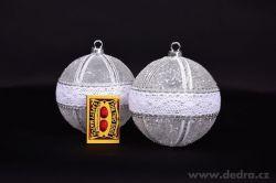 Svítící vánoční koule
