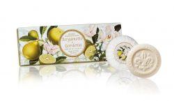 Ručně balená mýdla Tropea Bergamotto e Gardenia 3x100 g