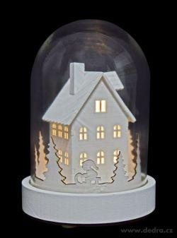 ŠTURC svítící chaloupka dřevěná